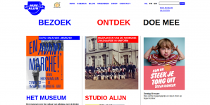 Huis van Alijn website screenshot